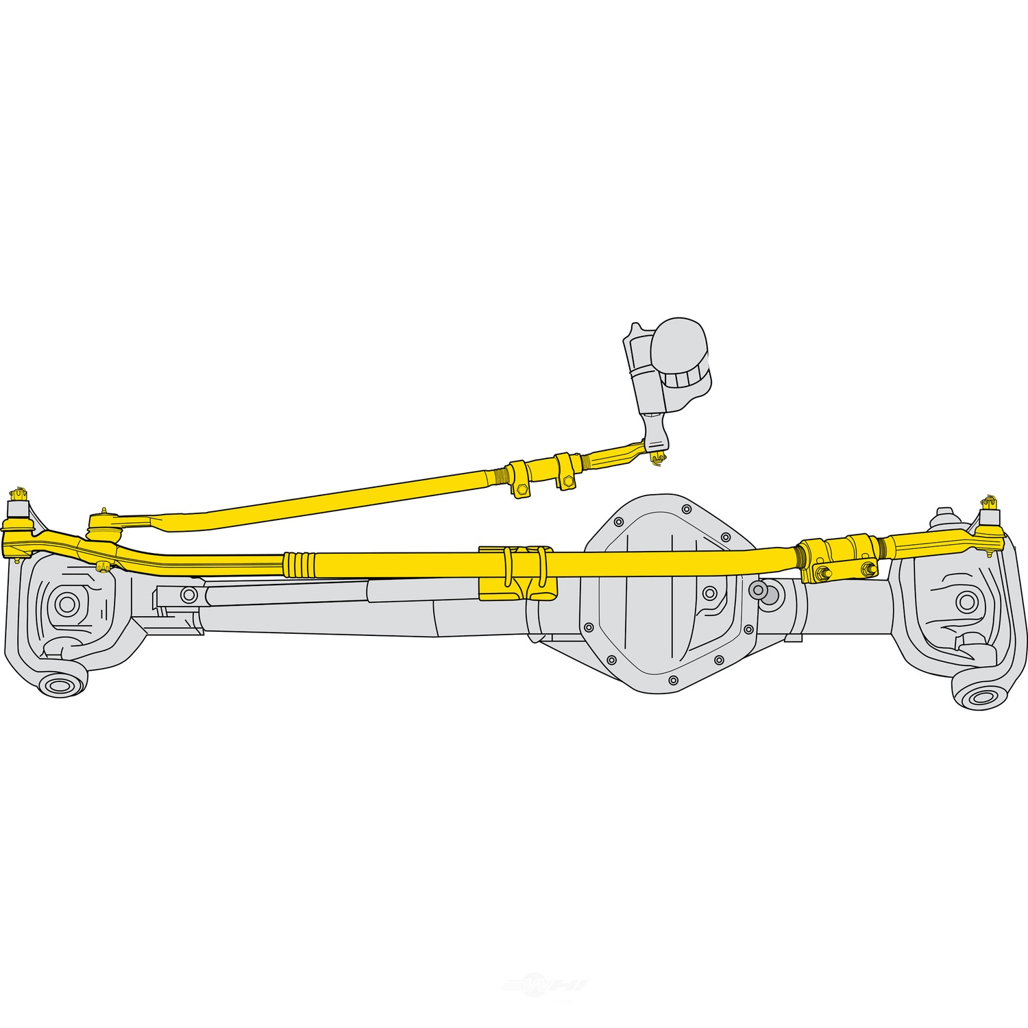 MOOG - Steering Linkage Assembly - MOO DS800981A