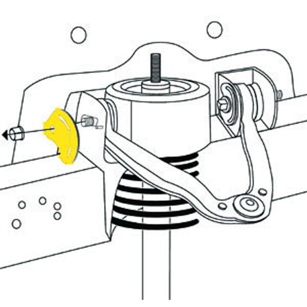 MOOG - Alignment Camber Caster Plate - MOO K80277