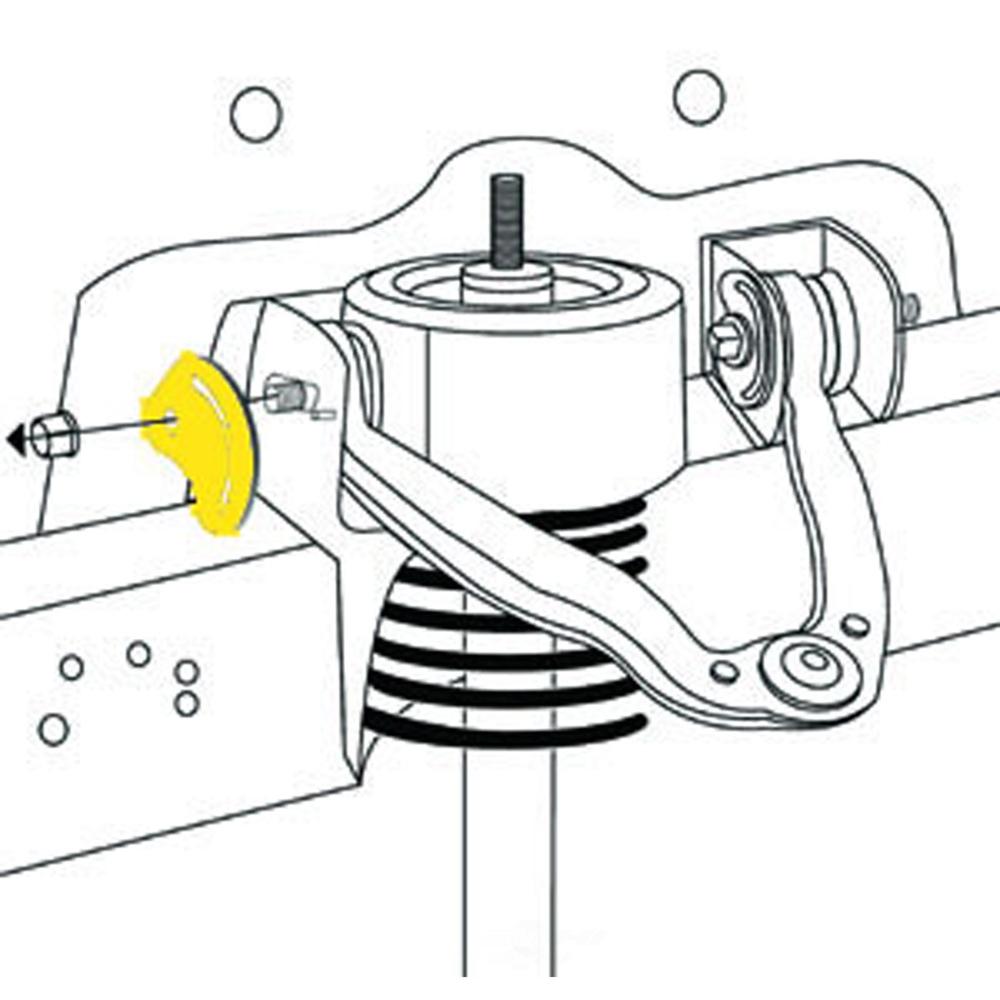 MOOG - Alignment Camber Caster Cam - MOO K80277