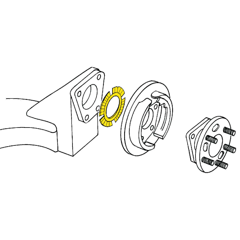 MOOG - Alignment Shim (Rear) - MOO K995-1