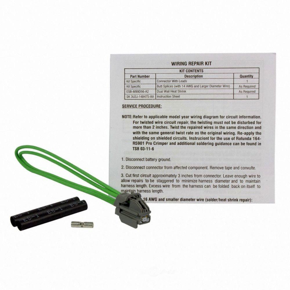 MOTORCRAFT - Brake Pressure Switch Connector - MOT WPT-965