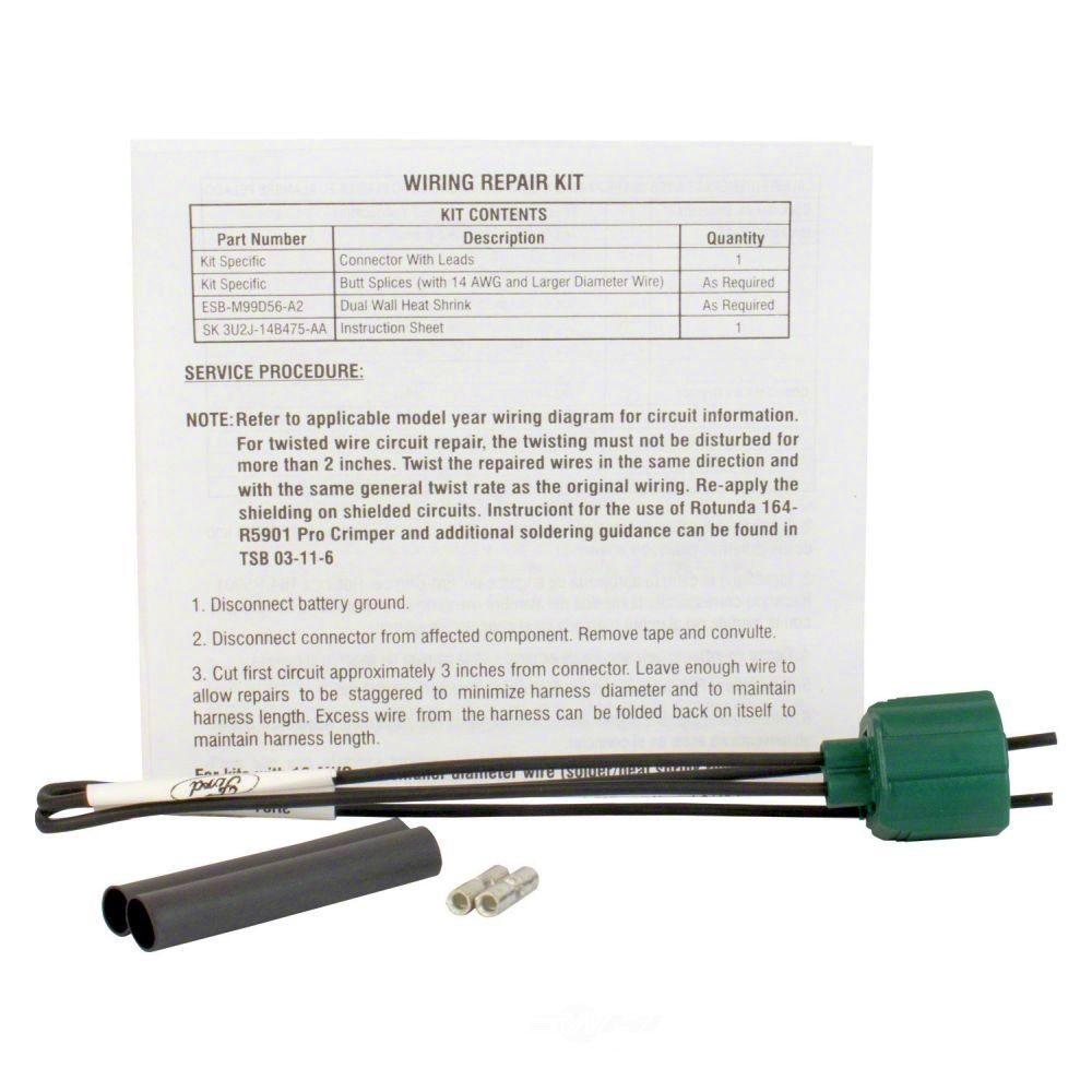 MOTORCRAFT - Ignition Knock(Detonation) Sensor Connector - MOT WPT-1505