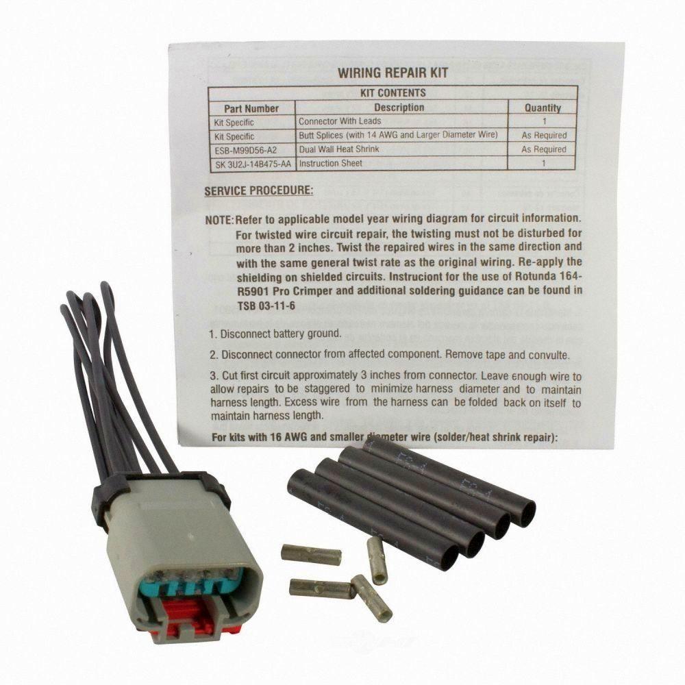 MOTORCRAFT - Fuel Pump / Sending Unit Connector (Auxiliary) - MOT WPT-1373