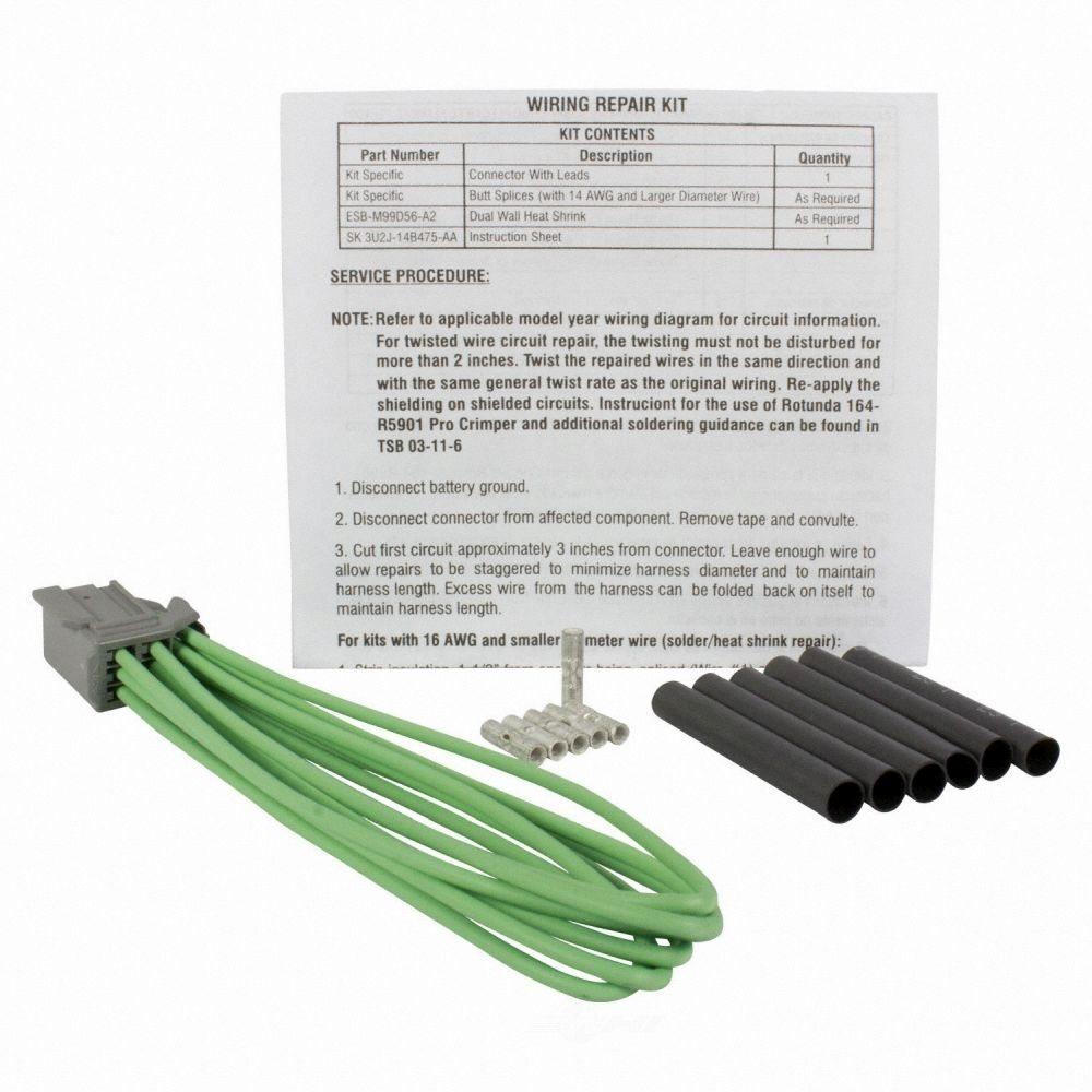 MOTORCRAFT - 110 Volt Outlet Connector - MOT WPT-962