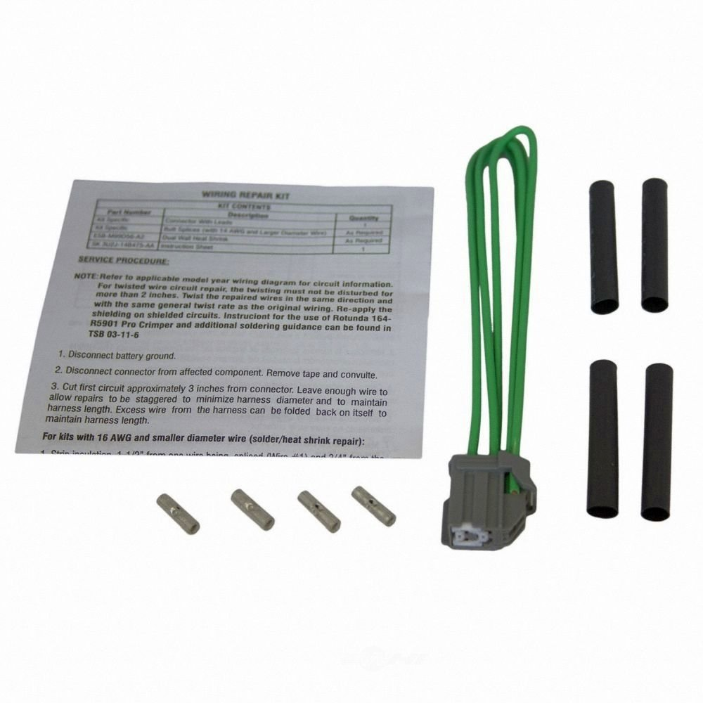 MOTORCRAFT - Adjustable Pedal Motor Connector - MOT WPT-977