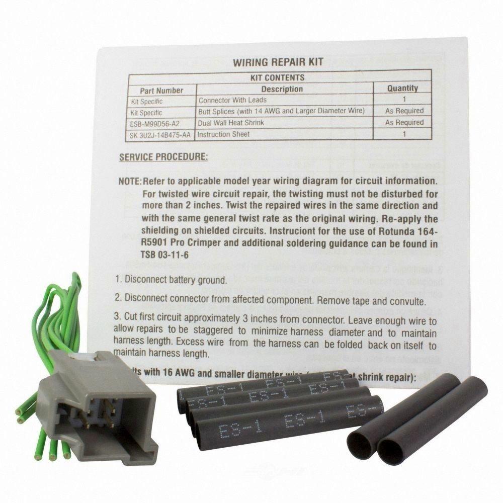 MOTORCRAFT - Adjustable Pedal Motor Connector - MOT WPT-1299