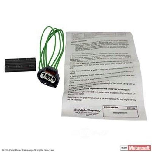 MOTORCRAFT - Manifold Absolute Pressure Sensor Connector - MOT WPT-1293