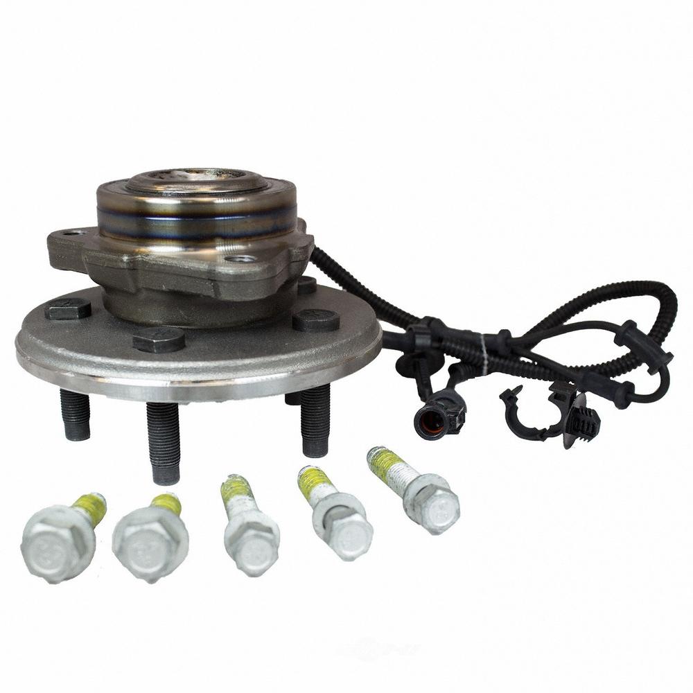 MOTORCRAFT - Disc Brake Hub (Front) - MOT HUB-67