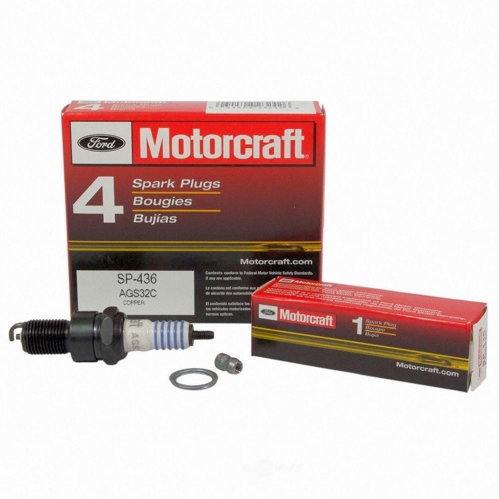 MOTORCRAFT - Copper Resistor Spark Plug - MOT SP-436