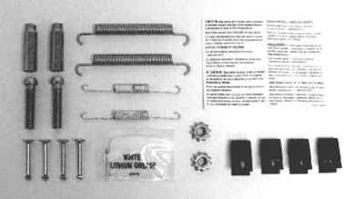 MOTORCRAFT - Hardware Combi Kit - MOT BRSK-7302