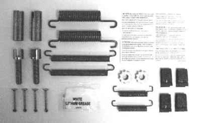 MOTORCRAFT - Hardware Combi Kit - MOT BRSK-7308A
