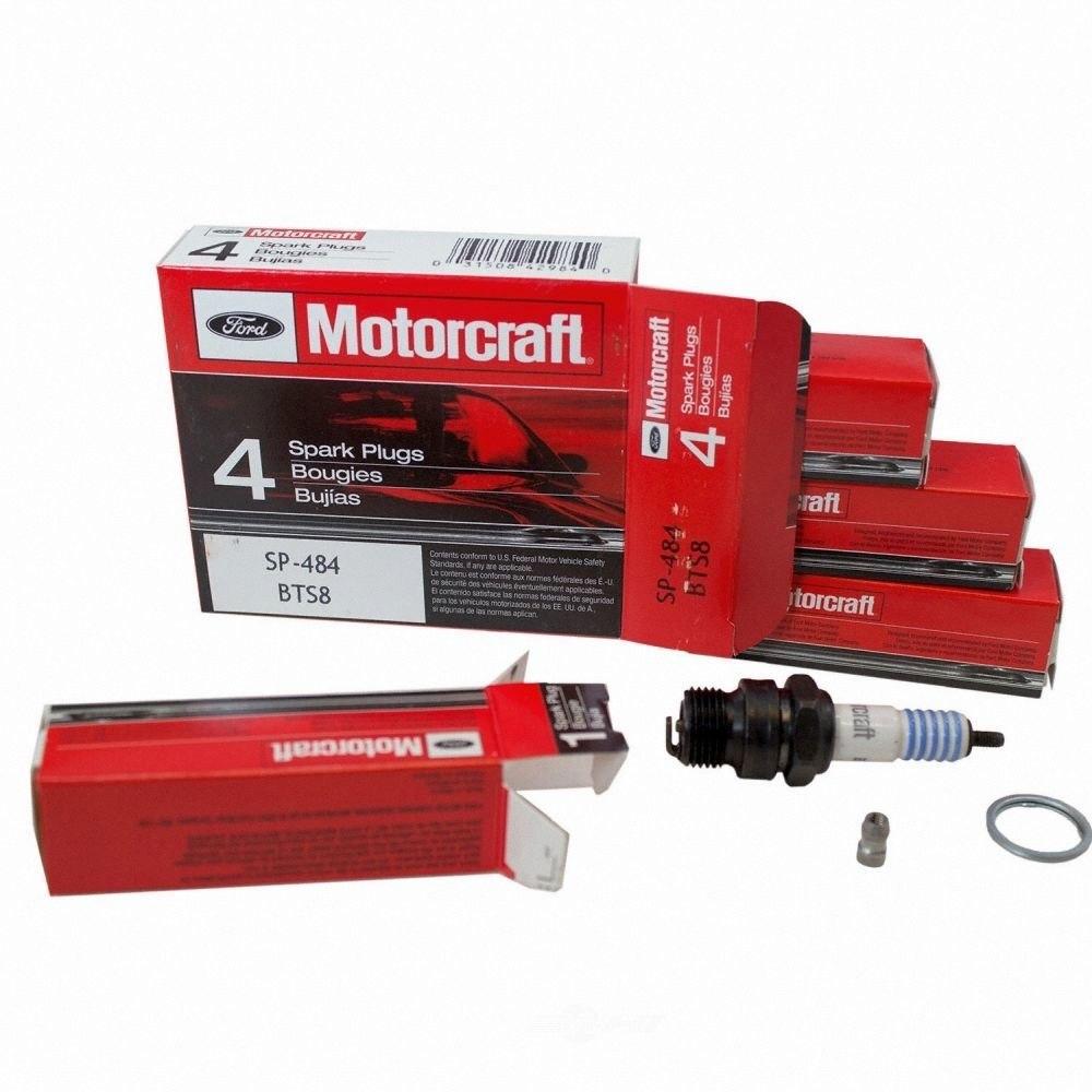MOTORCRAFT - Copper Resistor Spark Plug - MOT SP-484