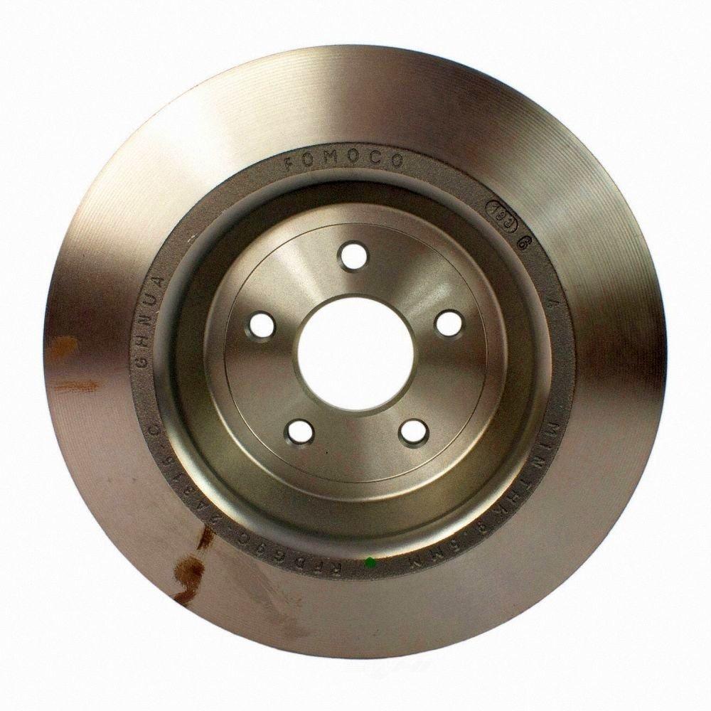 MOTORCRAFT - Disc Brake Rotor (Rear) - MOT BRRF-314