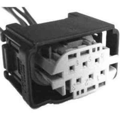 MOTORCRAFT - Tilt Steering Motor Connector - MOT WPT-963