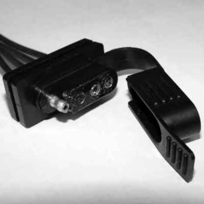MOTORCRAFT - Trailer Tow Side Connector - MOT WPT-840