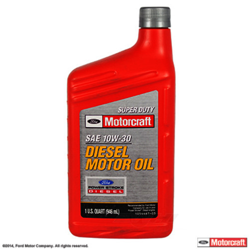 MOTORCRAFT - Super Duty Diesel Motor Oil - Quart - MOT XO-10W30-QSD