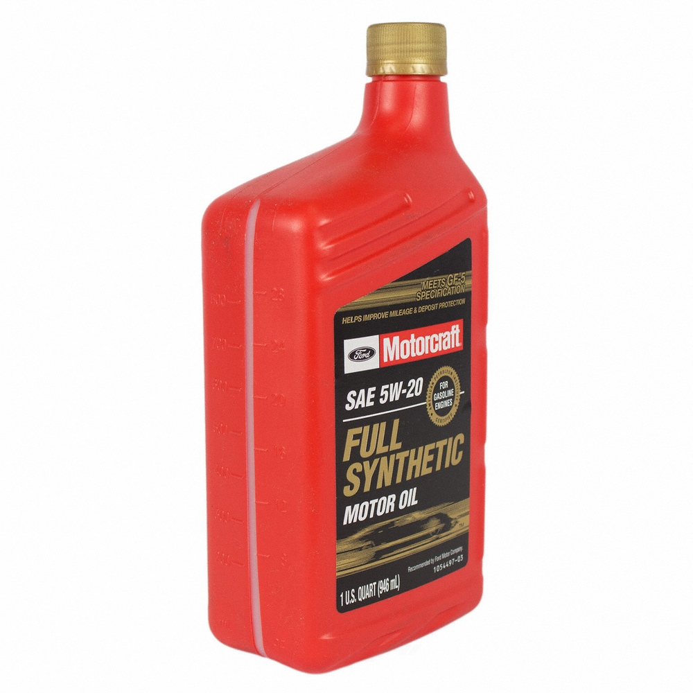 MOTORCRAFT - Full Synthetic Motor Oil - Quart - MOT XO-5W20-QFS
