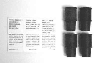 MOTORCRAFT - Disc Brake Hardware Kit - MOT BRPK-5568