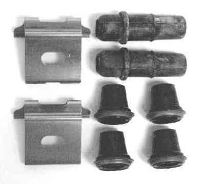 MOTORCRAFT - Disc Brake Hardware Kit - MOT BRPK-5615