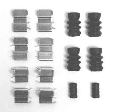 MOTORCRAFT - Disc Brake Hardware Kit - MOT BRPK-5656