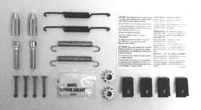 MOTORCRAFT - Hardware Combi Kit - MOT BRSK-7325