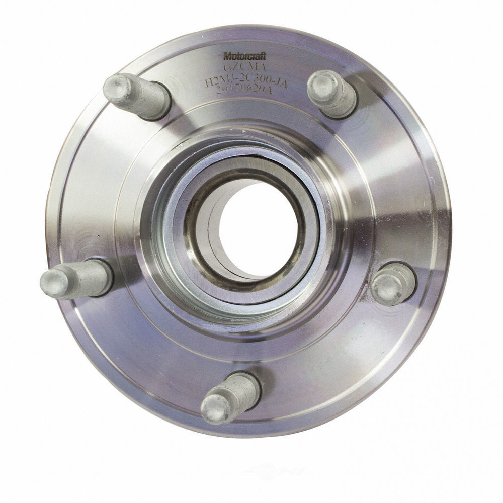 MOTORCRAFT - Wheel Bearing & Hub Assembly (Front) - MOT NHUB-51