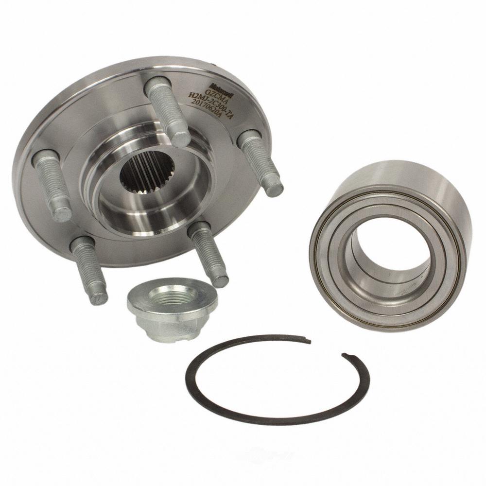MOTORCRAFT - Wheel Bearing & Hub Assembly (Front) - MOT NHUB-59