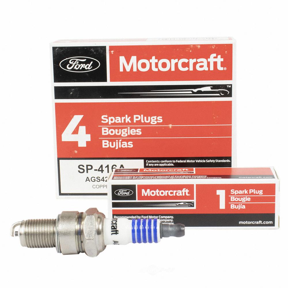 MOTORCRAFT - Copper Resistor Spark Plug - MOT SP-416-A