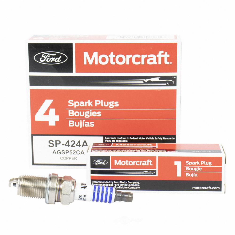MOTORCRAFT - Copper Resistor Spark Plug - MOT SP-424-A