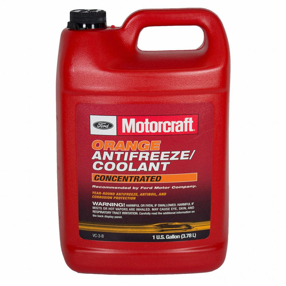 MOTORCRAFT - Orange Concentrated Antifreeze / Coolant - Gallon - MOT VC-3-B