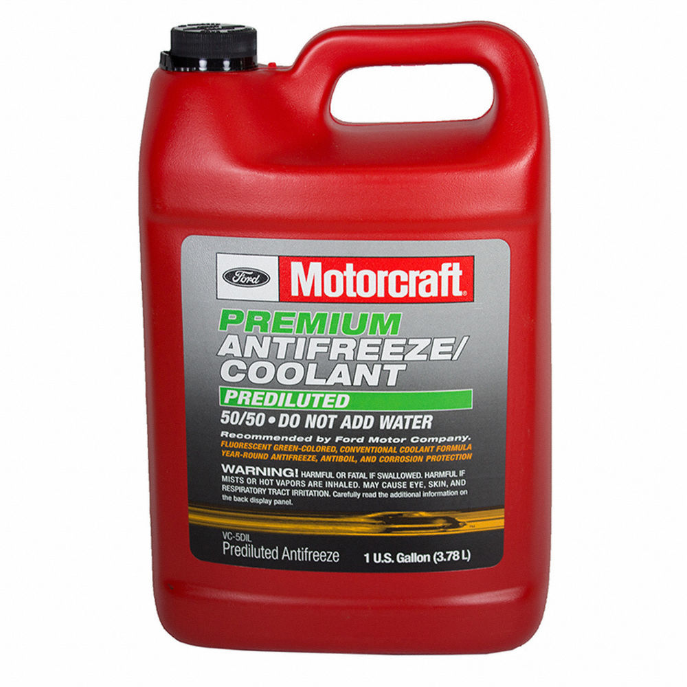 MOTORCRAFT - Premium Diluted Antifreeze / Coolant - Gallon - MOT VC-5DIL