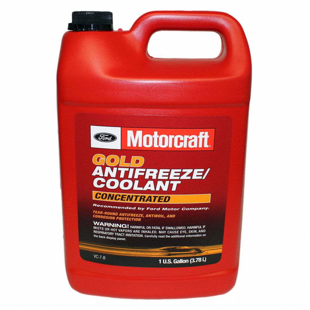 MOTORCRAFT - Gold Concentrated Antifreeze / Coolant - Gallon - MOT VC-7-B