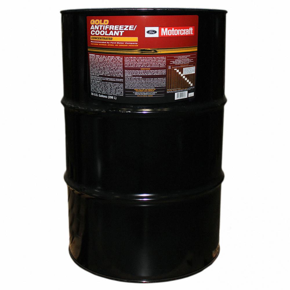 MOTORCRAFT - Gold Concentrated Antifreeze / Coolant - 55 Gallon Drum - MOT VC-7-D