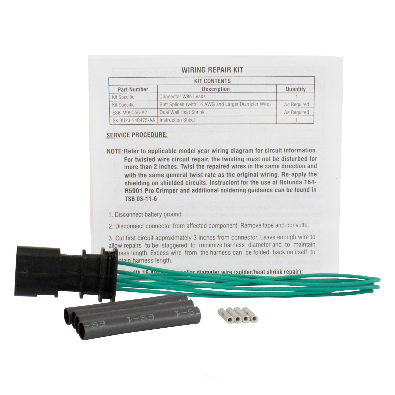 MOTORCRAFT - Catalyst Monitor Sensor Connector - MOT WPT-1381
