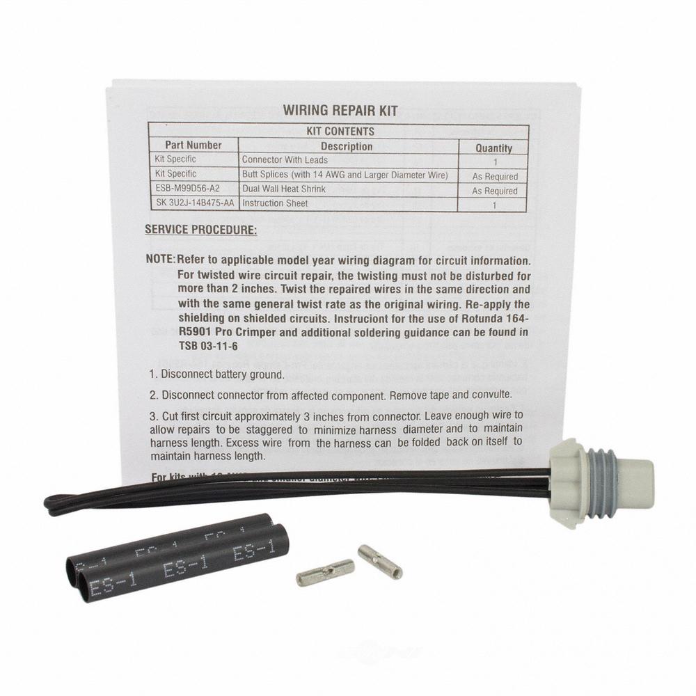 MOTORCRAFT - A/c Compressor Clutch Connector - MOT WPT-1436