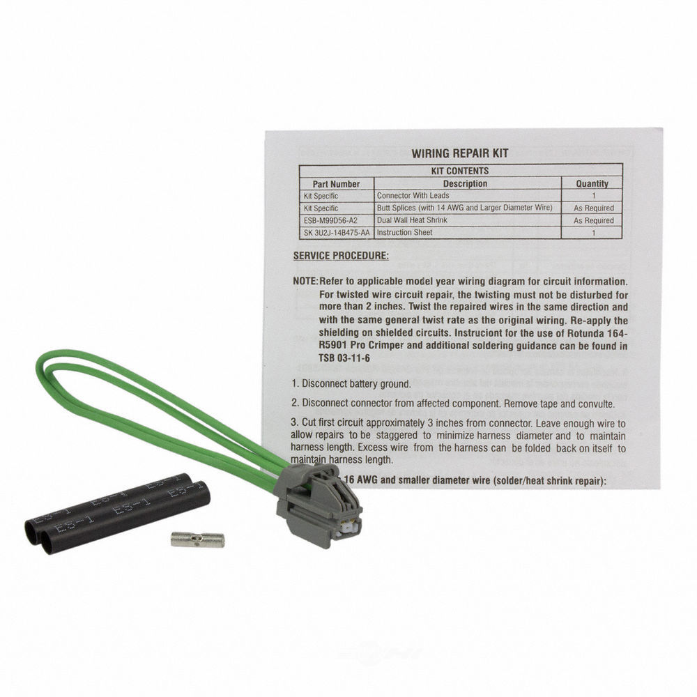 MOTORCRAFT - Battery Temperature Sensor Connector - MOT WPT-965