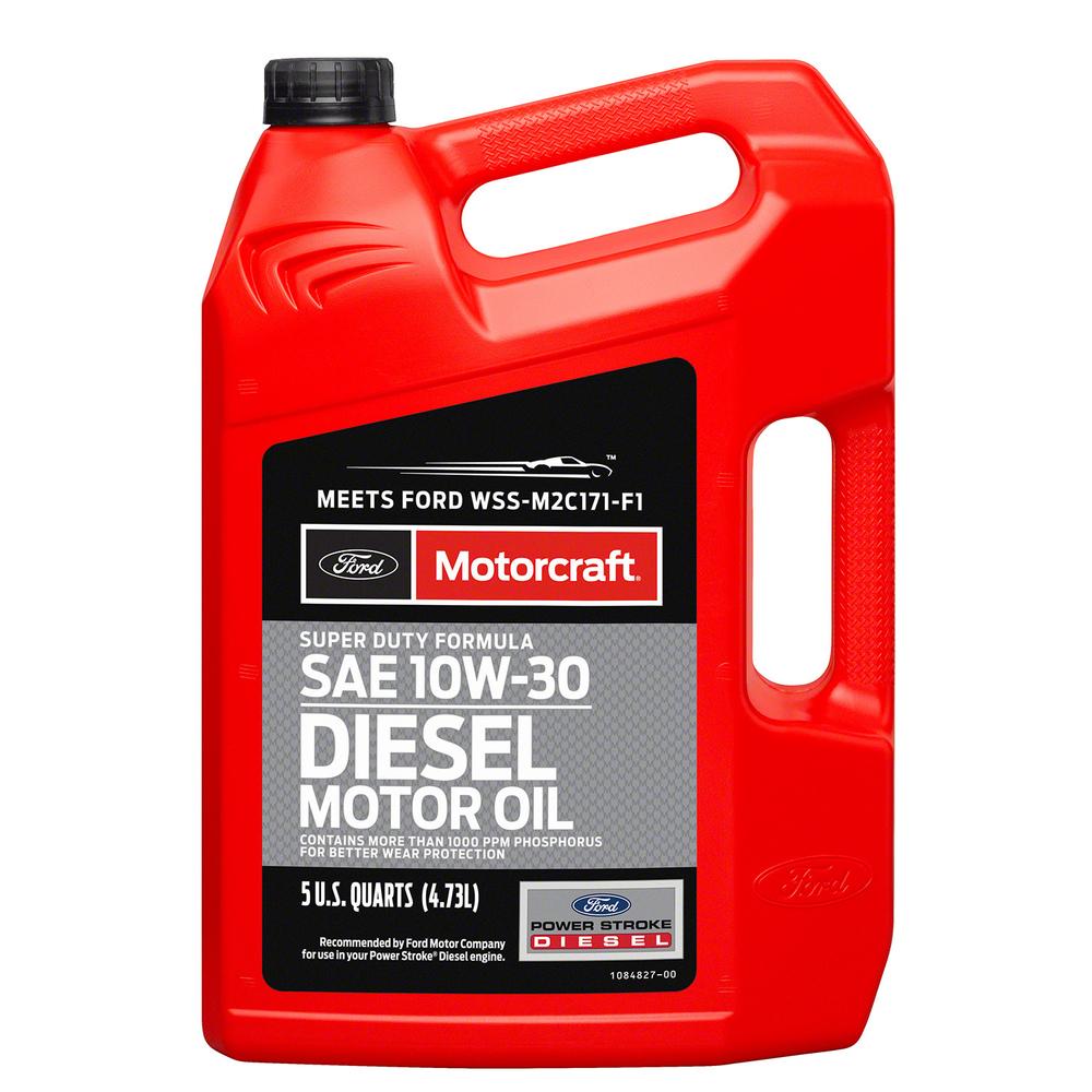 MOTORCRAFT - Super Duty Diesel Motor Oil - 5 Quart - MOT XO-10W30-5Q3SD
