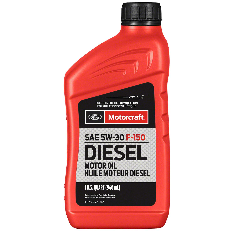 MOTORCRAFT - Full Synthetic Diesel Motor Oil - Quart - MOT XO-5W30-QFA
