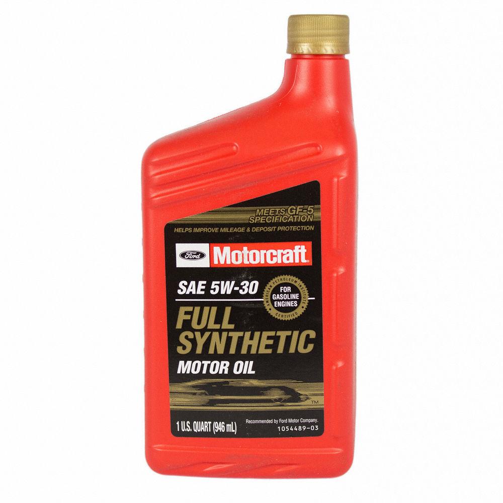MOTORCRAFT - Full Synthetic Motor Oil - Quart - MOT XO-5W30-QFS