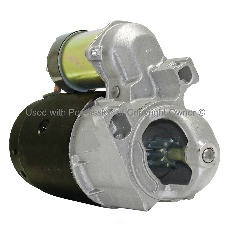 QUALITY-BUILT - Reman Starter Motor - MPA 3631S