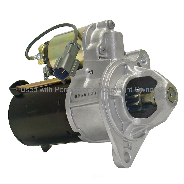 QUALITY-BUILT - Reman Starter Motor - MPA 6724S