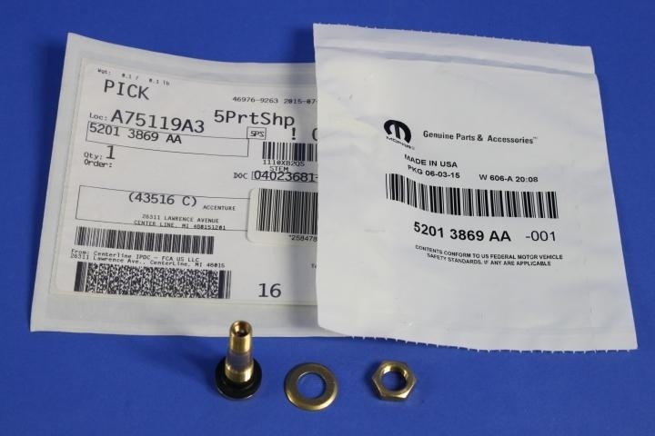 MOPAR PARTS - Tire Valve Stem - MOP 52013869AA