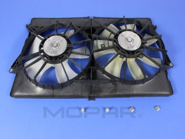 MOPAR PARTS - Engine Cooling Fan Assembly - MOP 68002778AA