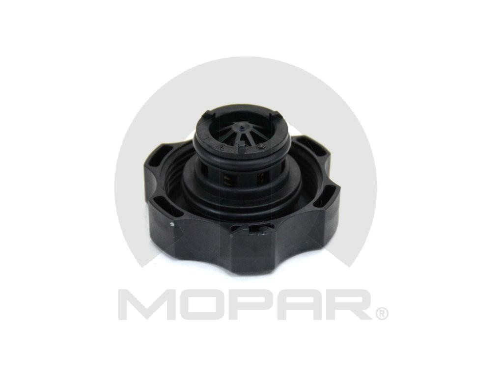 Mopar Brand Engine Coolant Reservoir Cap Part Number 68096261aa Saab Recovery Tank Mpb