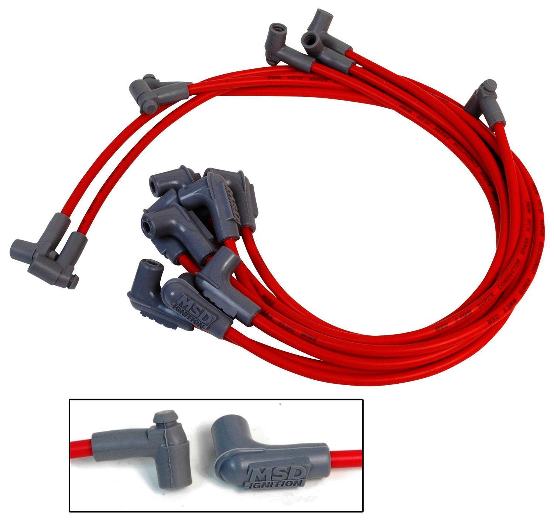 MSD IGNIT. - Custom Spark Plug Wire Set - MSD 31359