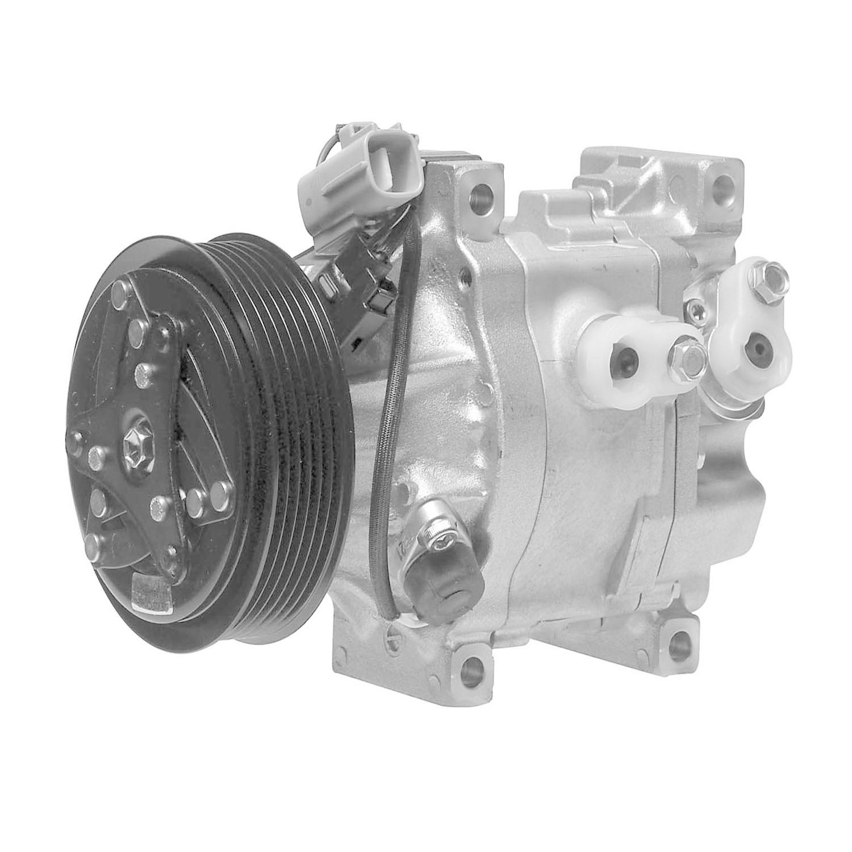 DENSO - Reman Compressor w/Clutch - NDE 471-0330