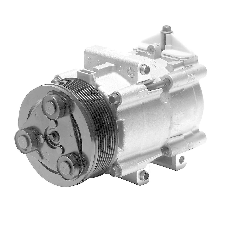 DENSO - New Compressor w/Clutch - NDE 471-8148