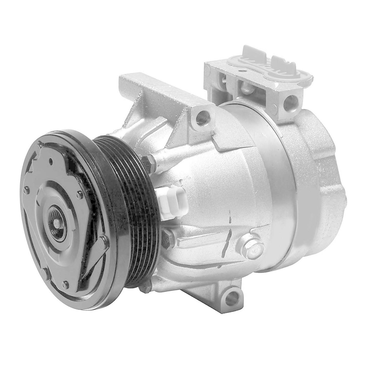 DENSO - New Compressor w/Clutch - NDE 471-9146