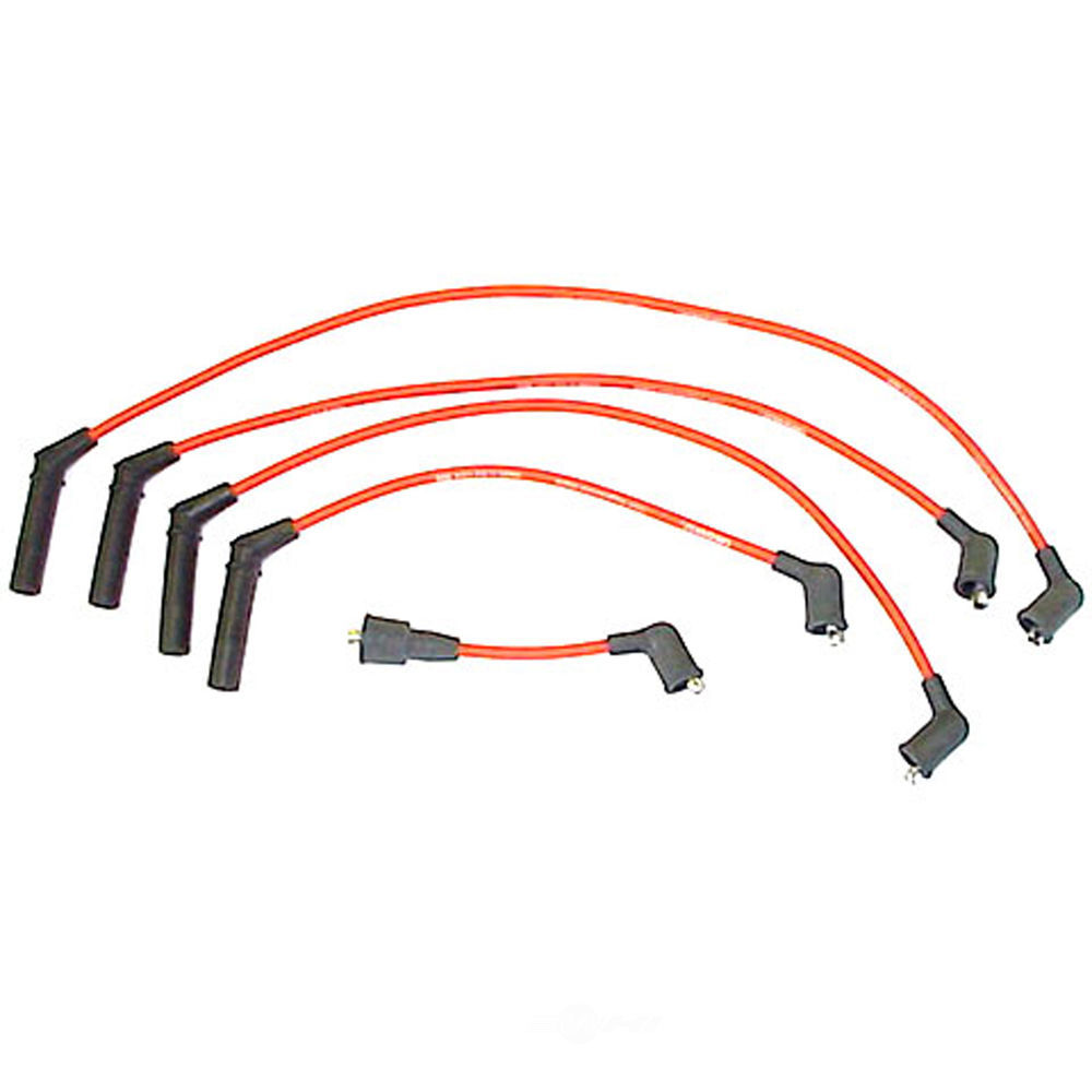 DENSO - 7mm Spark Plug Wire Set - NDE 671-4010