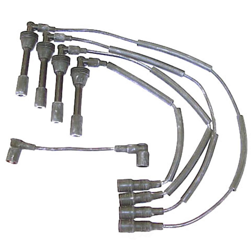 DENSO - 7mm Spark Plug Wire Set - NDE 671-4109